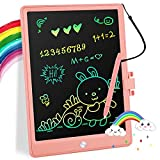 Ncesete LCD Writing Tablet, 11 Inch Colorful Drawing Pad Kids Erasable Electronic Preschool Doodle Board for Toddlers, Educational Toys Gifts for 3 4 5 6 7 Year Old Girls Boys
