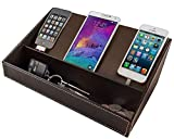 Stock Your Home Electronic Charging Station - Brown