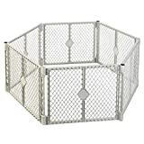 NORTH STATES SUPERYARD XT Baby or Pet Gate & Play Yard Indoor/Outdoor Plastic