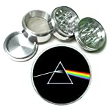 Dark Side of the Moon 4 Pc. Aluminum Tobacco Spice Herb Grinder