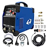 Plasma Cutter, CUT50 50 Amp 110V/220V ±15% Dual Voltage AC-DC IGBT Cutting Machine With LCD Display And Accessories Tools