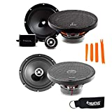 Focal Auditor Bundle - RSE-165 6.5' 2-Way Component Speakers (Pair) and RCX-165 6.5' 2-Way Coaxial Speakers (Pair)