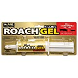 Harris Roach Gel, Ready to Use Cockroach Killer for Indoor and Outdoors, Extra Large 60g