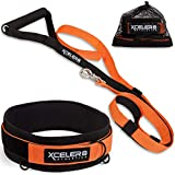 X-PLOSIVE Speed Training Kit / Overload Running Resistance & Release / Harness & Resistance Band, Speed and Agility Equipment for Sprint and Football, Basketball, Soccer / Youth and Adult Ready