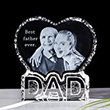 YWHL Customized Dad Birthday Gifts from Daughter, Personalized Photo Presents for Dad, Father's Day Present from Kids (Customize)