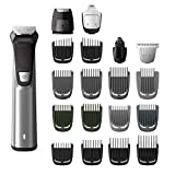 Philips Norelco MG7750/49 Multigroom Series 7000, Men's Grooming Kit with Trimmer for Beard, Silver 1 Count