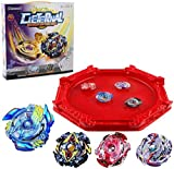 Bey Burst Battle Blade Metal Fusion Evolution Attack Set with and Star Storm Battle Set and Arena Included…
