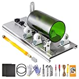 Glass Bottle Cutter Kit, Bottle Cutter DIY Machine for Cutting Square Round Oval Bottles, with Pencil Glass Cutter Tool Kit for Cutting Wine, Beer, Liquor, Whiskey, Alcohol, Champagne, and Mason Jars