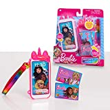 Barbie Unicorn Play Phone Set with Lights and Sounds, Unicorn Phone Case and Wristlet, Toy Cell Phone for Kids, by Just Play