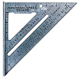 Swanson Tool Co S0101 7 Inch Speed Square, Blue