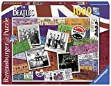 Ravensburger The Beatles Tickets 1000 Piece Jigsaw Puzzle for Adults – Every Piece is Unique, Softclick Technology Means Pieces Fit Together Perfectly