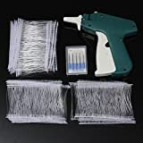 Winnerbe Clothes Tagging Gun Price Label Tag Gun Labeler Tag Attacher Clothing Tag Gun with ±1000 White Barbs Fasteners and 5 Extra Steel Needles