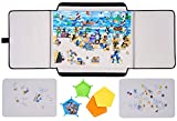 Jigsaw Puzzle Board Puzzle Mat for Puzzle Storage and Playing Portable Puzzle Table Up to 1500 Pieces