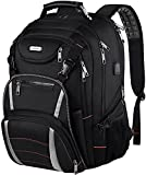 Travel Laptop Backpack, Extra Large Bookbag for Men Women,Basketball Backpack with USB Charging Port RFID Anti Theft TSA Approved,School College Student Waterproof Bag Fits 17 Inch Computer Notebook