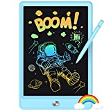 KOKODI LCD Writing Tablet 8.5-Inch Colorful Doodle Board, Electronic Drawing Tablet Drawing Pad for Kids, Educational and Learning Kids Toys Gifts for 3 4 5 6 7 Year Old Boys and Girls(Blue)