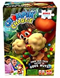 Chompin' Charlie Game - Feed The Squirrel Acorns and Race to Collect Them When They Scatter - Includes 24-Piece Puzzle by Goliath
