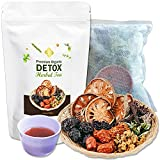 SLIMMING | NATURAL 100% HERBAL DETOX TEA. Blend of 12 Organic Herbs Detox Tea For Weight Loss And Belly Fat. SKINNY FIT Detox Cleanse Reduce Bloating. Colon Cleanser & Detox For Weight Loss For Women.