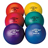 S&S Worldwide 3.5' Gator Skin Super 90 Ball (Pack of 6), Assorted Colors
