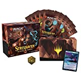 Magic The Gathering Strixhaven Bundle | 10 Draft Boosters (150 Magic Cards) + Accessories