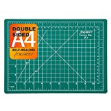 12' x 9' Self-Healing Cutting Mat for Craft, Idemeet Cutting Board with Grid, Non-Slip Cut Mat Board for Vinyl, Double-Sided Rotary Cut Board for Sewing, Quilting, Hobby, A4