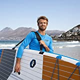 THURSO SURF SUP Paddle Board Carrier Surfboard Carrying Strap Shoulder Sling Adjustable Padded Heavy-Duty SUP Accessories for Transportation