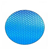 sportuli Round Swimming Pool Solar Cover,Durable Dustproof Heat Retaining Blanket Cover for In-Ground and Above-Ground Round Swimming Pools (10 Ft)