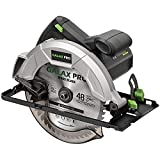 GALAX PRO Circular Saw 10A 5800 RPM Hand-Held Saw, Bevel Angle(0 to 45°) Joint Cuts with 7-1/4 Inch Blade, Adjustable Cutting Depth (1-5/8' to 2-1/2') for Wood and Logs Cutting-GP76331