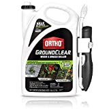Ortho GroundClear Weed & Grass Killer Ready-to-Use - Grass Weed Killer Spray, Use in Landscape Beds, Around Vegetable Gardens, on Patios & More, Broadleaf Weed Killer, See Results in 15 Minutes, 1 gal