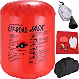 Bestauto 4 Ton Exhaust Air Jack 8800LBS Capacity Inflatable Air Jack Off-Road Exhaust Air Jack Lifting with Bag for Vehicle Car Truck