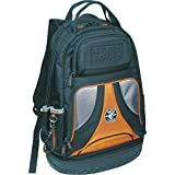 Klein Tools 55421BP-14 Tool Bag Backpack, Heavy Duty Tradesman Pro Tool Organizer / Tool Carrier with 39 Pockets and Molded Base