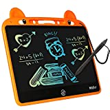 LCD Writing Tablet Doodle Board, MILYFER 13.5inch Colorful Drawing Pad Toddler Writing Tablet Electronic Doodle Board, Educational Kids Toys Gifts for 3 4 5 6 Year Old Boys and Girls