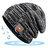 Bluetooth Hat, Rechargeable Unisex Beanie,Stocking Stuffers Gifts for Men Women