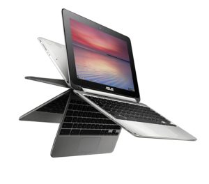 ASUS C100PA-DB02 10.1-inch Touch Chromebook Flip