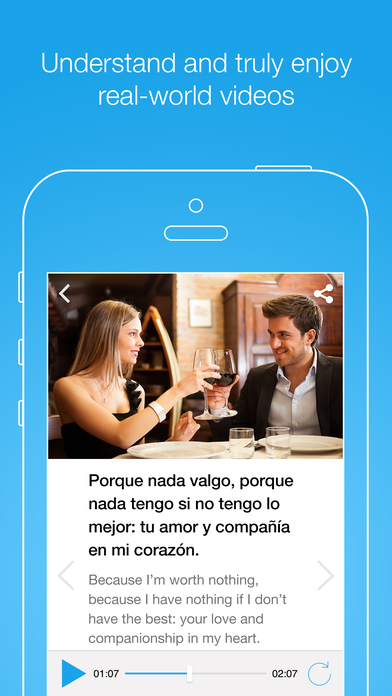 FluentU Spanish Learning App