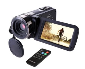Hausbell 302S FHD Camcorder - Best Night Vision Video Camera