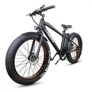 Nakto Foldaway Electric Bike Sport Mountain Bicycle with Lithium Battery
