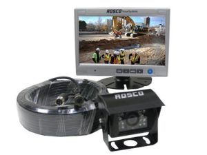 Rearview Backup Camera System Complete with 7-inch Color Monitor