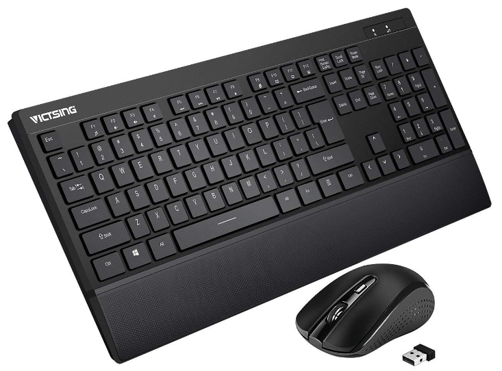 best wireless keyboard and mouse combo 2019 reviews buying guide. Black Bedroom Furniture Sets. Home Design Ideas