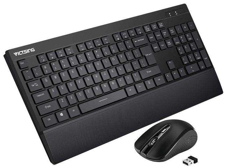 VicTsing Wireless Keyboard Mouse Combo