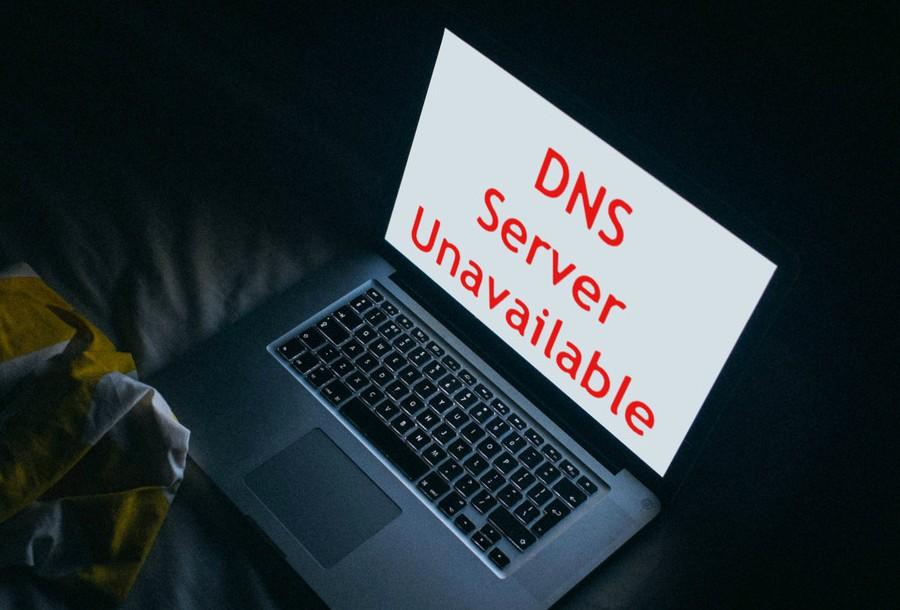 dns server unavailable error