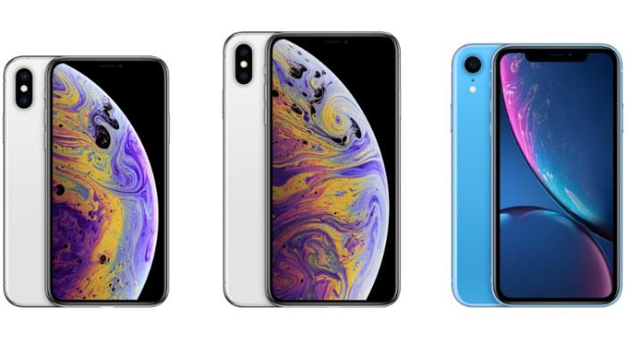 iphone xs xr xs max