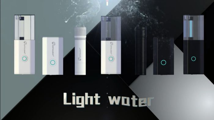 light water portable water purifier system