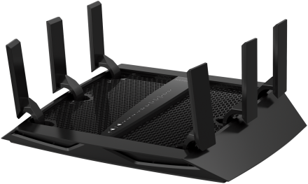netgear nighthawk x6s ac4000 r8000p tri-band gigabit wifi router review