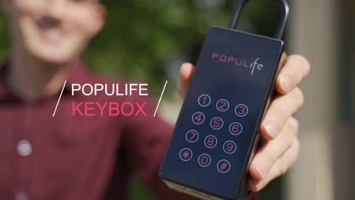 populife key box smart lock