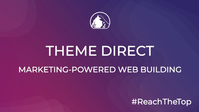theme direct wordpress website builder