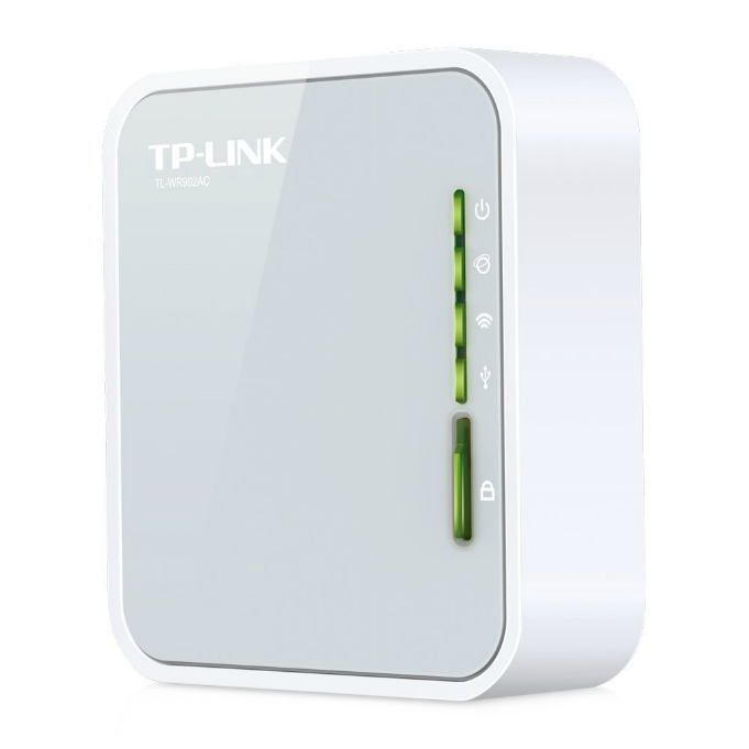 TP-Link AC750 Wireless Wi-Fi Travel Router (TL-WR902AC)