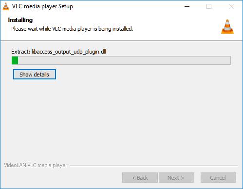vlc media player install process