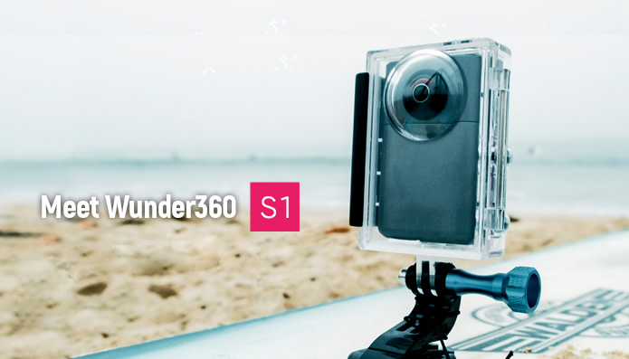 wunder360 s1 3d scaning 260 ai camera